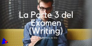 exito en el examen writing